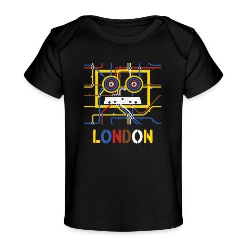 London Tube Map Underground - Baby Bio-T-Shirt