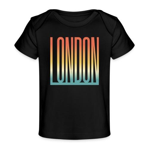 London Souvenir England Simple Name London - Baby Bio-T-Shirt