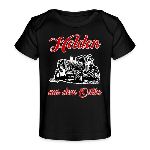 Helden aus dem Osten - Baby Bio-T-Shirt