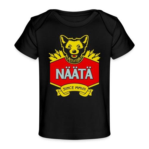 Näätä - Vauvojen luomu-t-paita