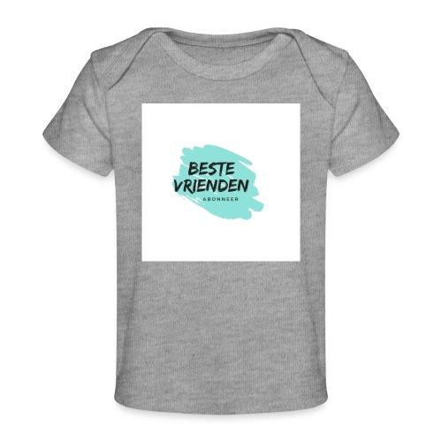 beste vriendeSpace - Baby bio-T-shirt