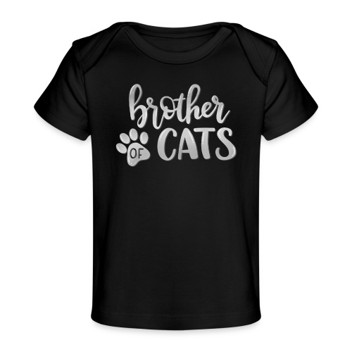 brother of cats grau - Baby Bio-T-Shirt