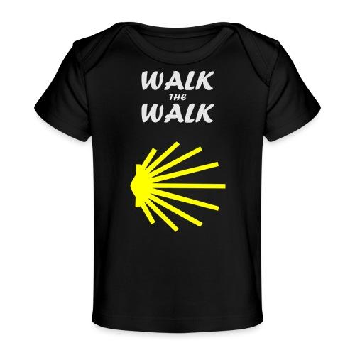 Walk the Walk - Camino de Santiago - Økologisk T-shirt til baby