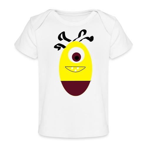 Gult æg - Økologisk T-shirt til baby