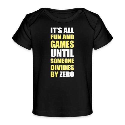 Divide by Zero - Ekologiczna koszulka dla niemowląt