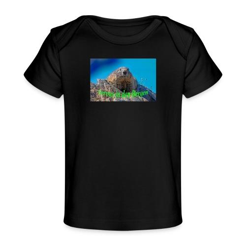 Servus in den Bergen - Baby Bio-T-Shirt