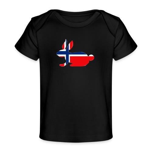 bunny logo - Organic Baby T-Shirt