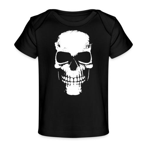 Skull Schatten Totenkopf Rocker - Baby Bio-T-Shirt