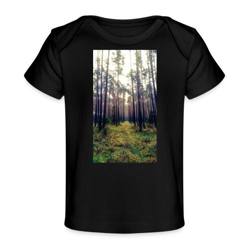 Las we mgle - Ekologiczna koszulka dla niemowląt