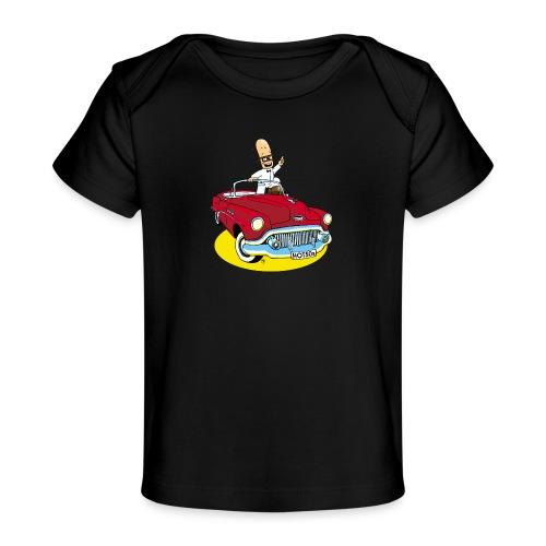 Herr Bohnemann im Buick - Baby Bio-T-Shirt