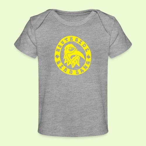 YELLOW EAGLE LOGO - Vauvojen luomu-t-paita