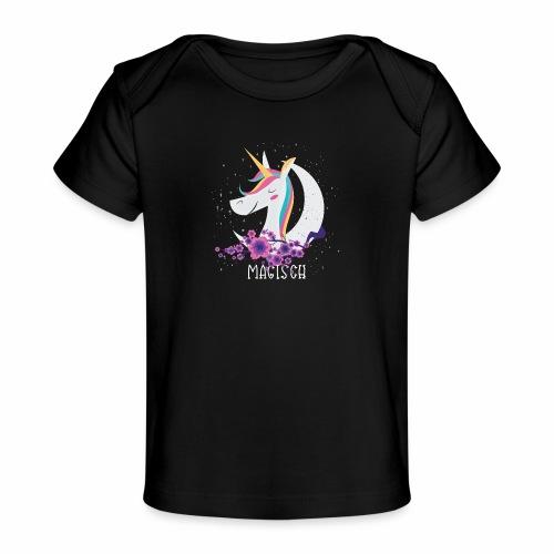 Magisches Einhorn - Baby Bio-T-Shirt