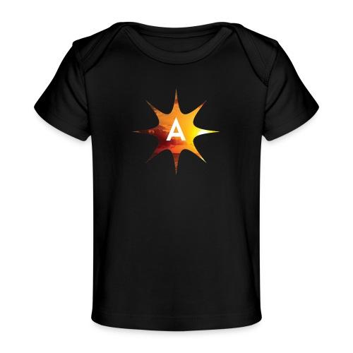 Sunshine Hoodie White - Ekologiczna koszulka dla niemowląt