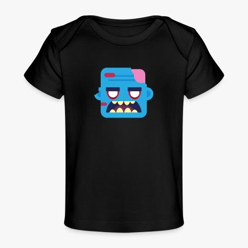 Mini Monsters - Zombob - Økologisk T-shirt til baby