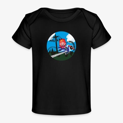 Themeparkrides - Airplanes - Baby bio-T-shirt