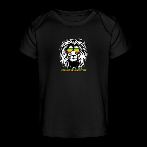 RASTA REGGAE LION - Baby Bio-T-Shirt