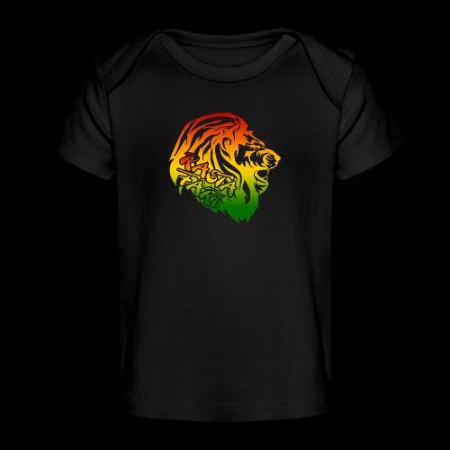 RASTA FARI LION - Baby Bio-T-Shirt
