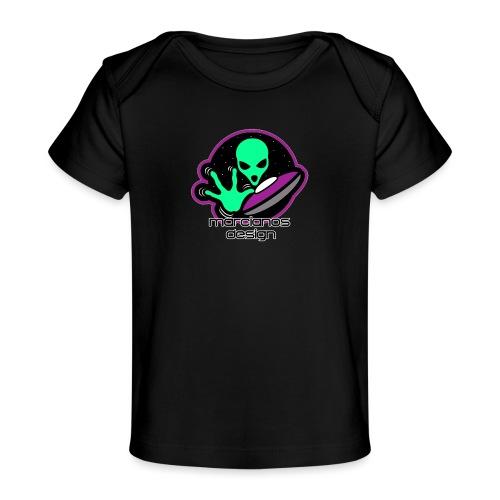 Logo Marcianos v.2 - Camiseta orgánica para bebé