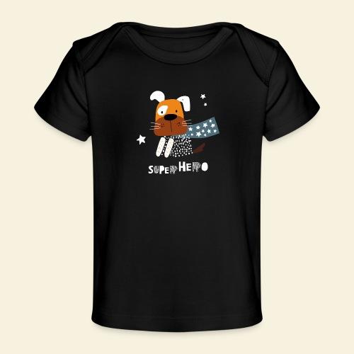 SuperHero - es kann nur Einen geben - Baby Bio-T-Shirt