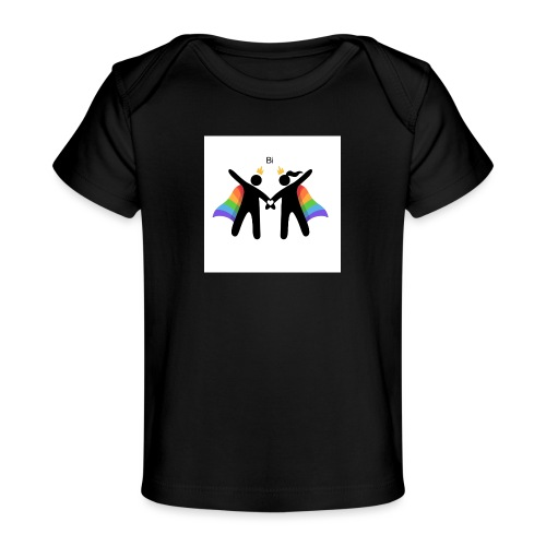 LGBT BI - Økologisk T-shirt til baby