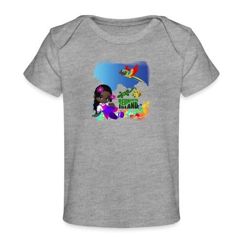 Reunion Island fillette - T-shirt bio Bébé