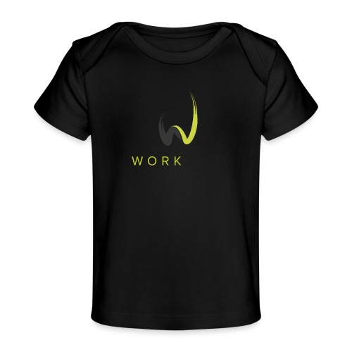 Workout Color mit Url - Baby Bio-T-Shirt