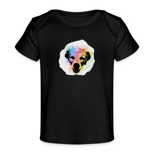 Golden Retriever Aquarell - Baby Bio-T-Shirt