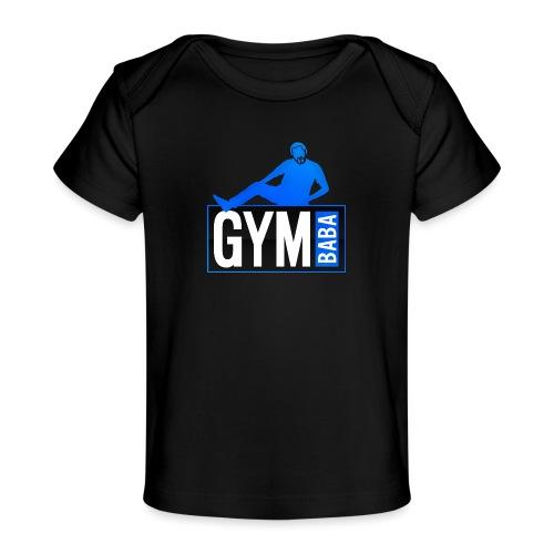Gym baba 2 bleu - T-shirt bio Bébé