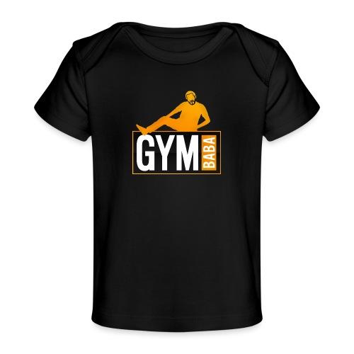 gym-baba-2-org-txtBlc dgr - T-shirt bio Bébé