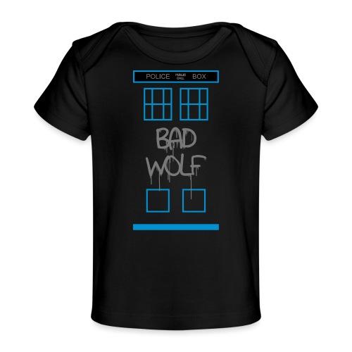 Doctor Who Bad Wolf - Maglietta ecologica per neonato