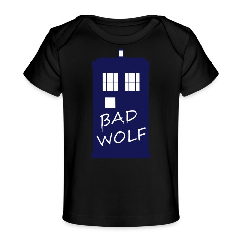 Bad Wolf Tardis - T-shirt bio Bébé