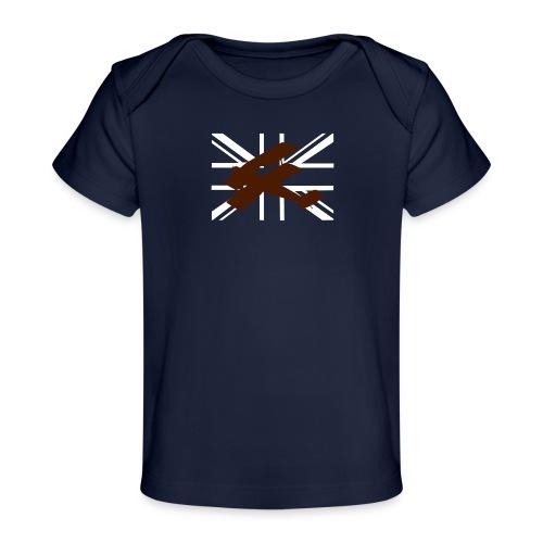ukflagsmlWhite - Organic Baby T-Shirt