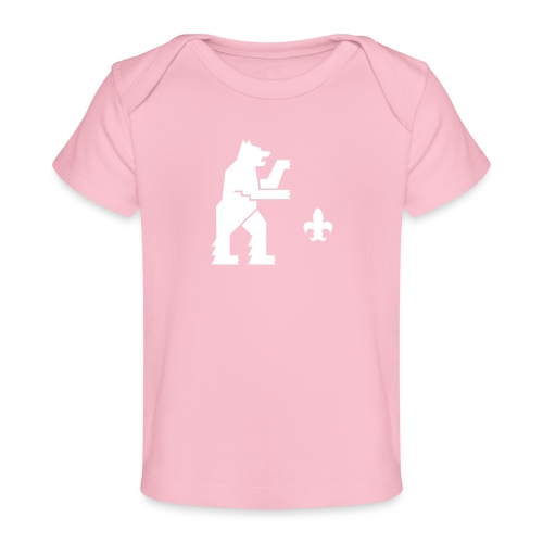 hemelogovektori - Vauvojen luomu-t-paita