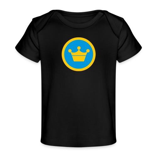 foursquare supermayor - Camiseta orgánica para bebé
