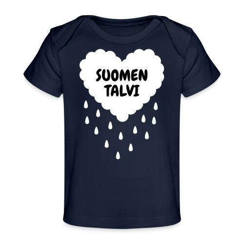 Suomen talvi - Vauvojen luomu-t-paita
