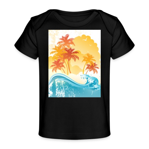 Palm Beach - Organic Baby T-Shirt