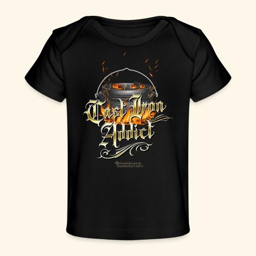 Cast Iron Addict - Baby Bio-T-Shirt