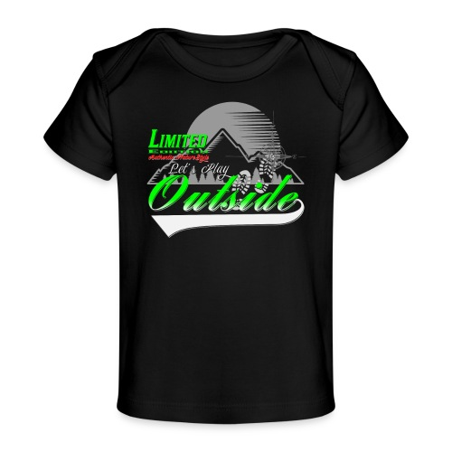 Wandern Limited Edition Lets Play Outside - Baby Bio-T-Shirt