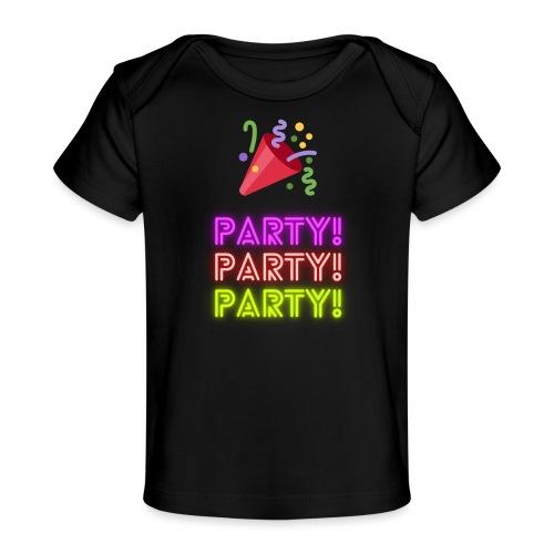 fest - Økologisk T-shirt til baby