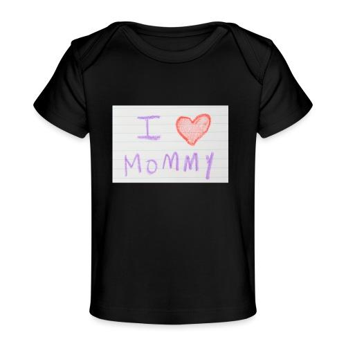 mommy - Økologisk T-shirt til baby