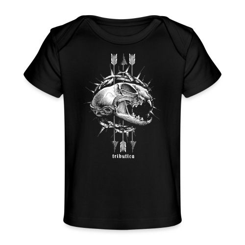 Death Cat by Tributica® - Baby Bio-T-Shirt