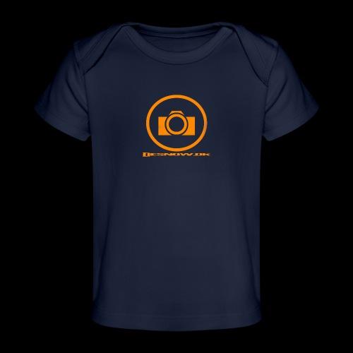 Orange 2 png - Økologisk T-shirt til baby