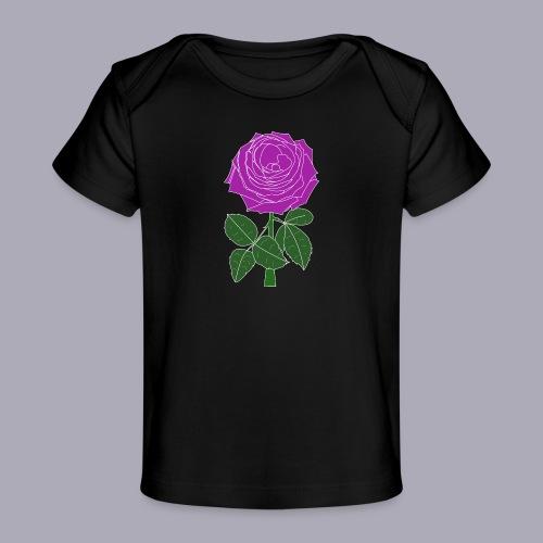 Landryn Design - Pink rose - Organic Baby T-Shirt