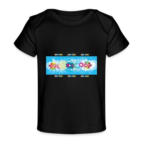 melange color - T-shirt bio Bébé