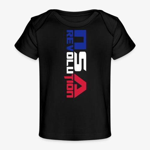 nsa revolution - T-shirt bio Bébé