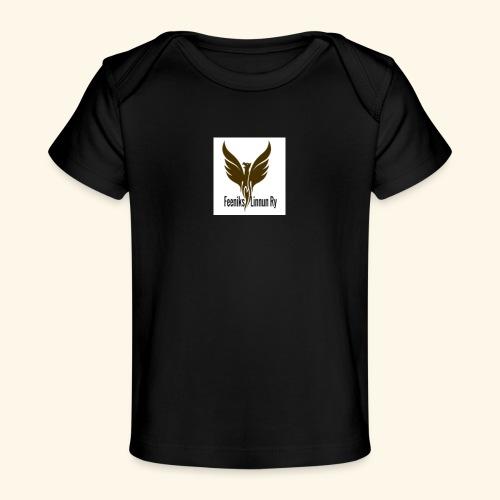 feeniks logo - Vauvojen luomu-t-paita