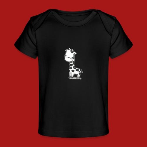 CuteBaby Giraf - Økologisk T-shirt til baby