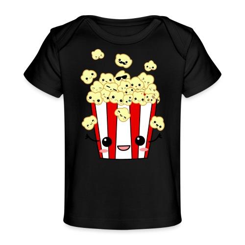 PopCorn - Camiseta orgánica para bebé