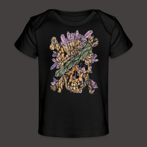Crane de Pirate de Cristal Couleur - T-shirt bio Bébé