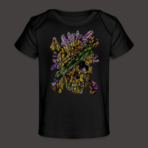 Crane de Pirate de Cristal Creepy - T-shirt bio Bébé